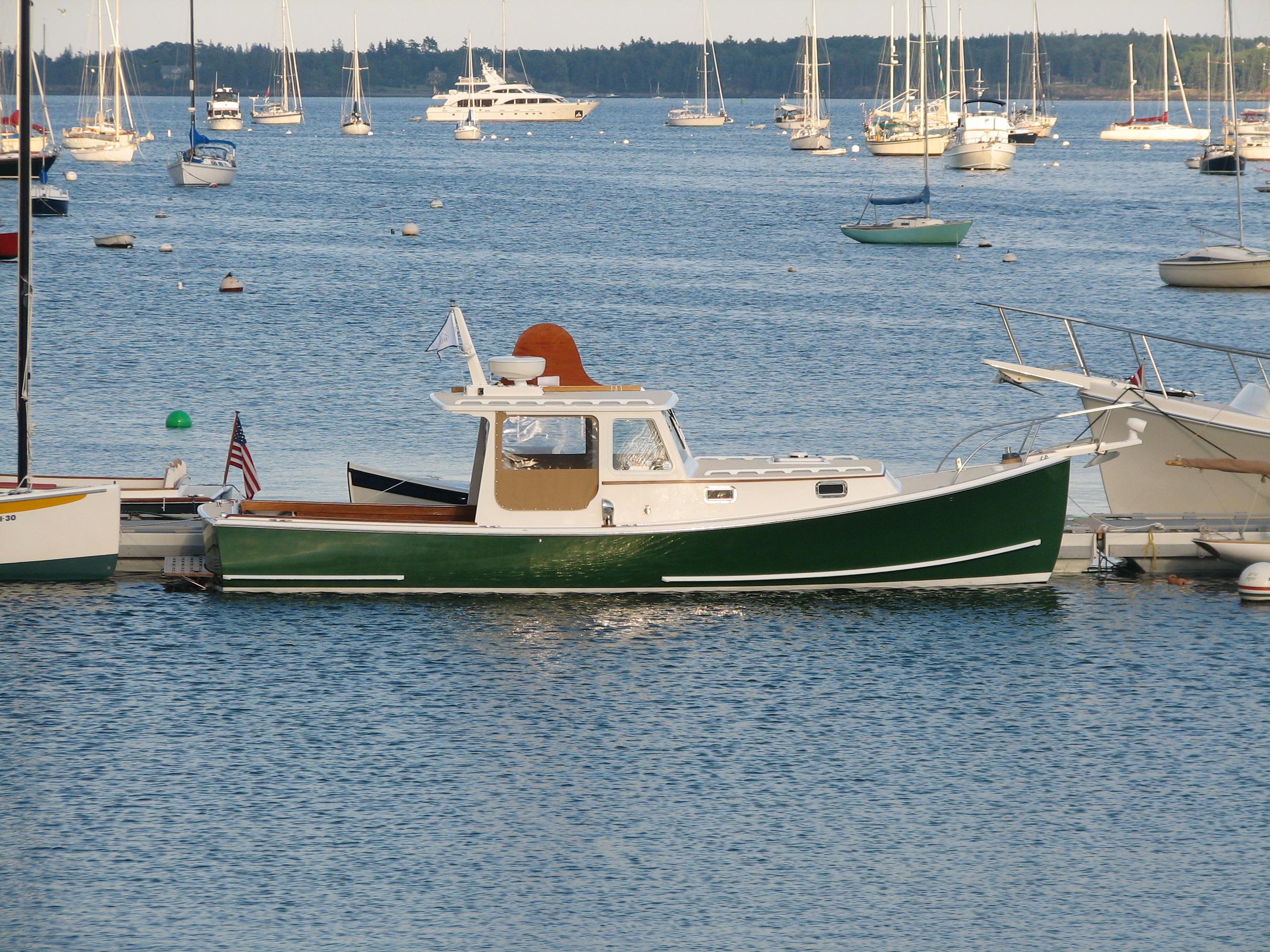 Boats yachts maine boats lobster boats picnic boats sailing - Holland 32
